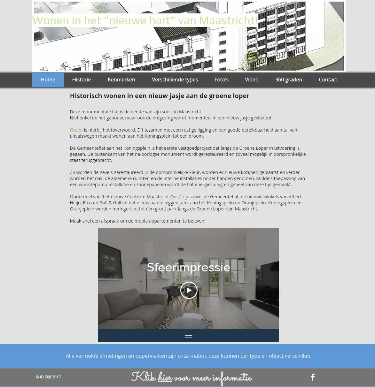 website door idstijl